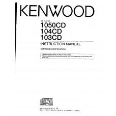 Kenwood 104CD CD Player