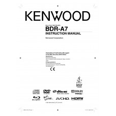 Kenwood BDR-A7 Blu-ray Disc Receiver