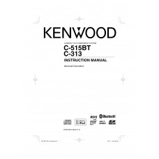 Kenwood C-313-W Compact Hifi Component System with USB, SD card and iPod host function