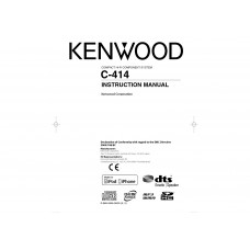 Kenwood C-414-W Compact Hifi Component System