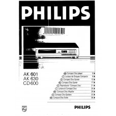 Philips AK601 Compact Disc Player