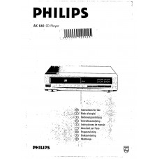 Philips AK640 CD Player
