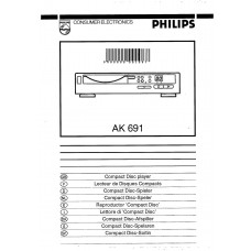 Philips AK691 CD Player