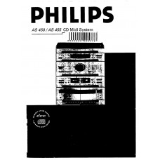 Philips AS455 CD Mini System