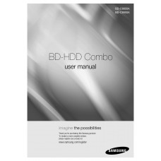 Samsung BD-C8900A HDD Combo