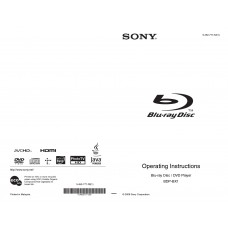 Sony BDP-BX1 Blu-ray Disc / DVD Player