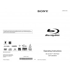 Sony BDP-BX38 Blu-ray Disc / DVD Player