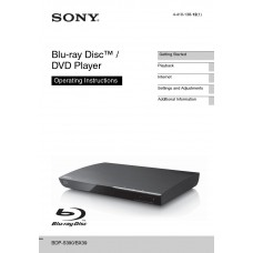 Sony BDP-BX39 Blu-ray Disc / DVD Player