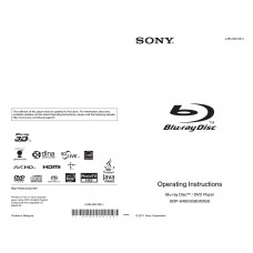 Sony BDP-BX58 Blu-ray Disc Player