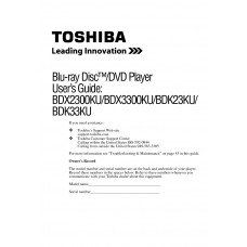 Toshiba BDK33KU Blu-ray Disc Player