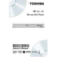 Toshiba BDX1100KU Blu-ray Disc Player