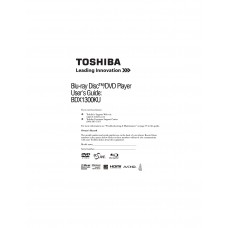 Toshiba BDX1300KU Blu-ray Disc Player