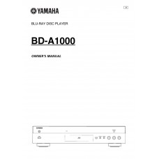 Yamaha BD-A1000 Blu-ray Disc Player
