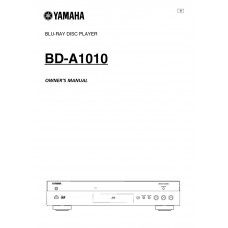 Yamaha BD-A1010 Blu-ray player