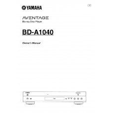 Yamaha BD-A1040 Blu-ray Disc Player