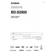 Yamaha BD-S2900 Blu-ray player