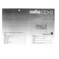 Yamaha CD-2 Compact Disc Player