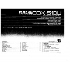 Yamaha CDX-510 Compact Disc Player